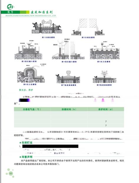 淮阴灌浆料 梁柱截面增大加固专用水泥基灌浆料80297245