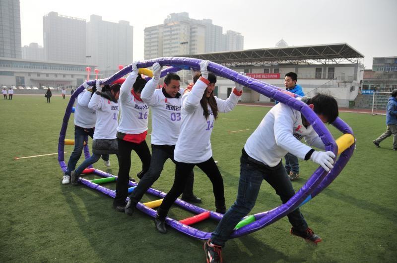 江西秋季趣味運動會氣模趣味充氣闖關障礙814087912