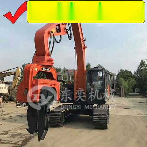 挖掘机打钢板桩机 打拔拉森钢板桩 打桩锤厂57552835