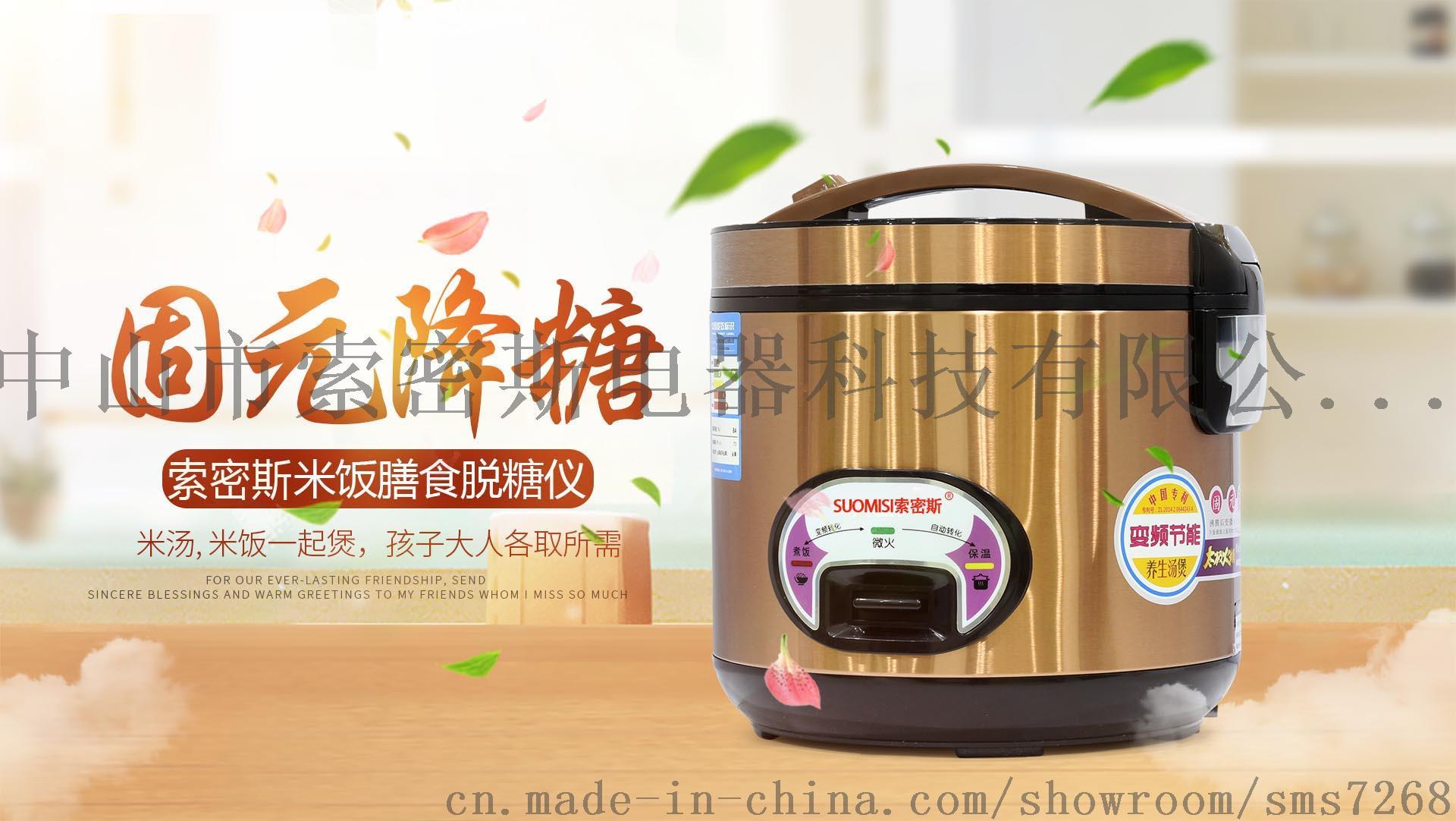 米饭食疗脱糖仪 脱糖电饭煲 米汤分离脱糖仪773712035