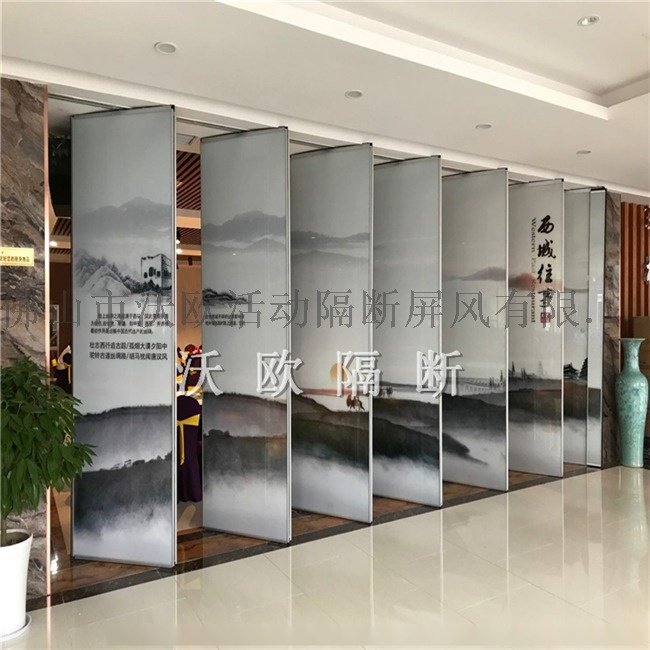 decorative glass aluminium soundproof wall partition for office.jpg