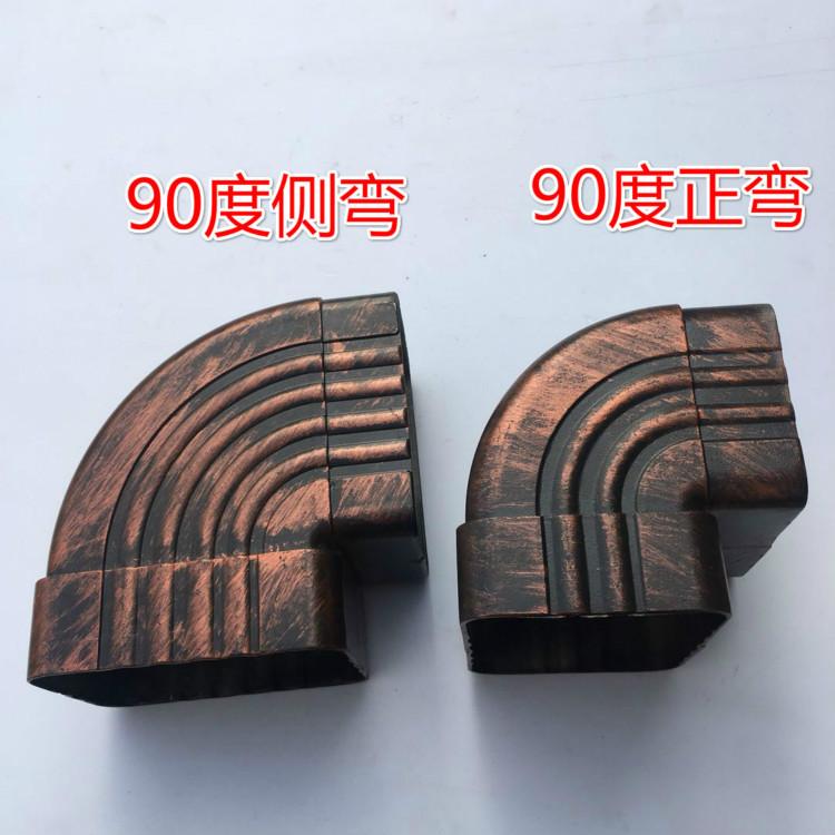杭州方形铝合金下水管规格有现货773774582