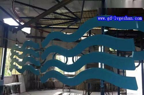 波浪形铝方通 造型铝方通厂家 铝方通造型