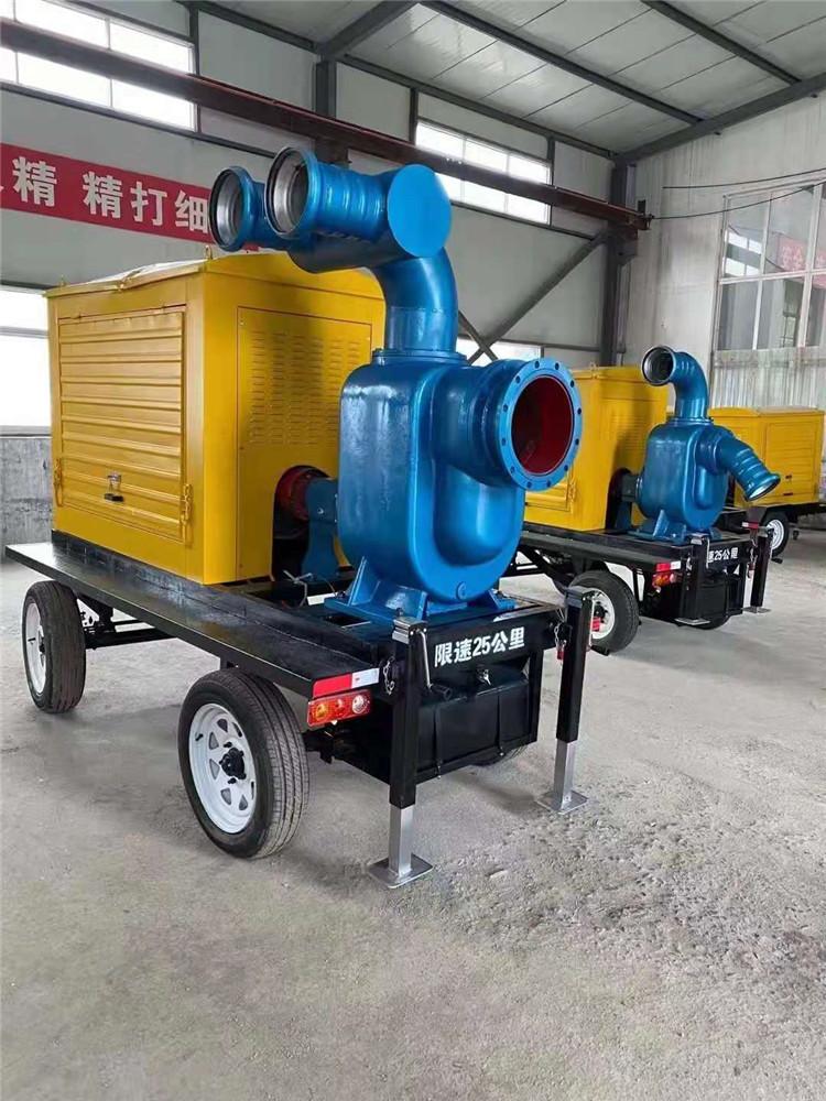 防水防洪8寸柴油自吸水泵140039752