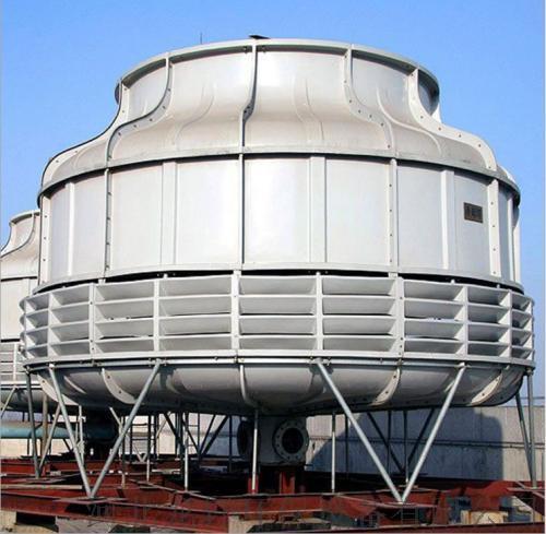 圆形逆流玻璃钢冷却塔  耐腐蚀抗氧化圆形冷却塔103353042
