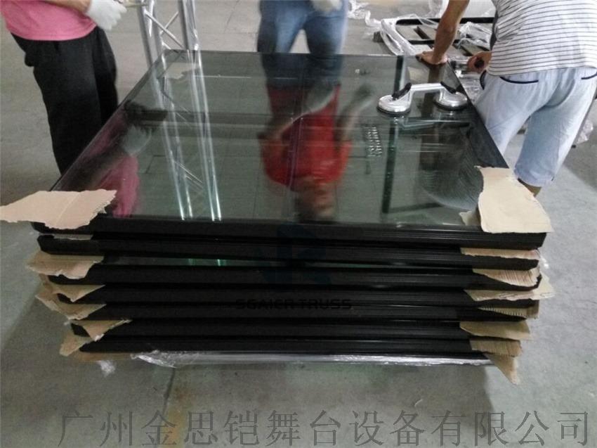 黑色玻璃拼接舞台,升降舞台,拼装舞台,组合型舞台779777922