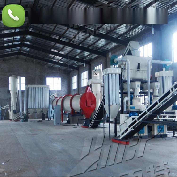 安徽時產2噸木屑顆粒機,制粒機生產線 廠家直銷79031402