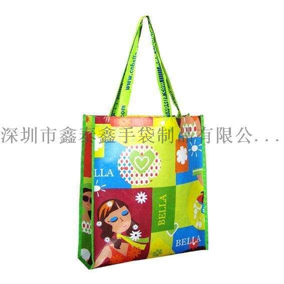 无纺布覆膜折叠手提环保袋100947235