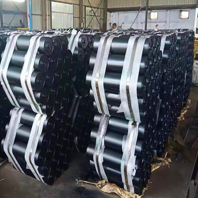 水泥厂胶带机35度上托辊 108直径35度上托辊组866942982