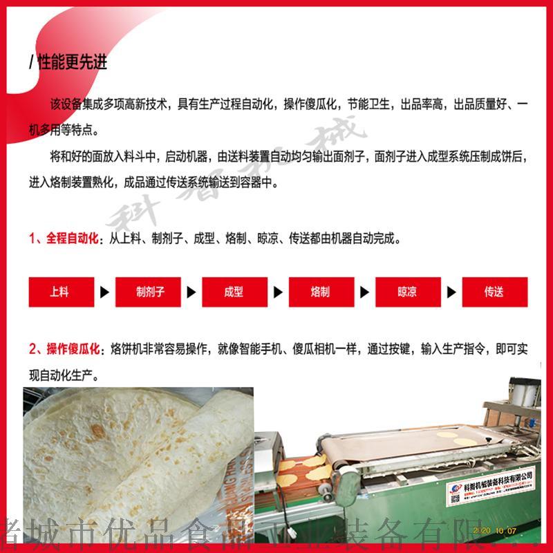 山东优品烙饼机、现货压饼机、带糊花烙馍机129712282