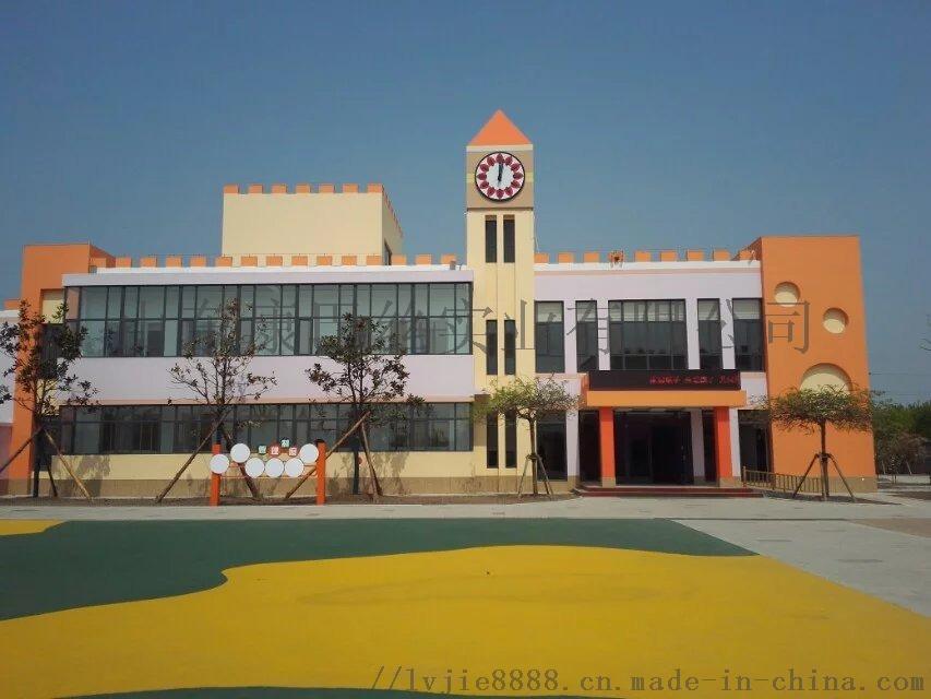 天津外國語鐘鼓樓時鐘正在安裝 期待鐘錶的報時聲107052082