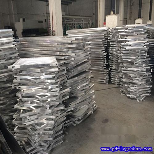拉网板吊顶 铝网格板厂家 铝网板批发
