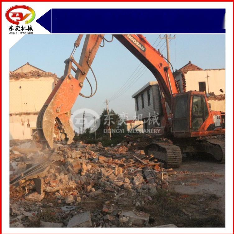 勾机液压钳 挖掘机高层拆除液压破碎钳 混凝土破碎钳769060135