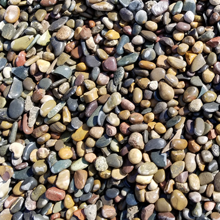 五彩鹅卵石1-2cm
