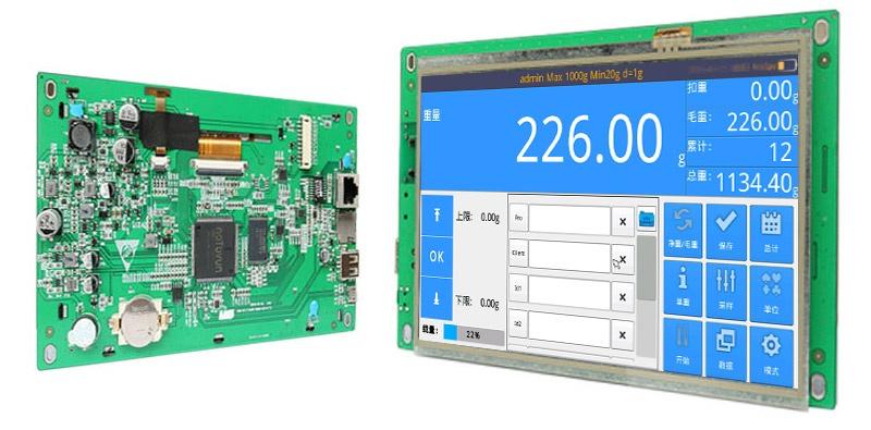 工业平板电脑触摸控制智能电子秤解决方案844849635