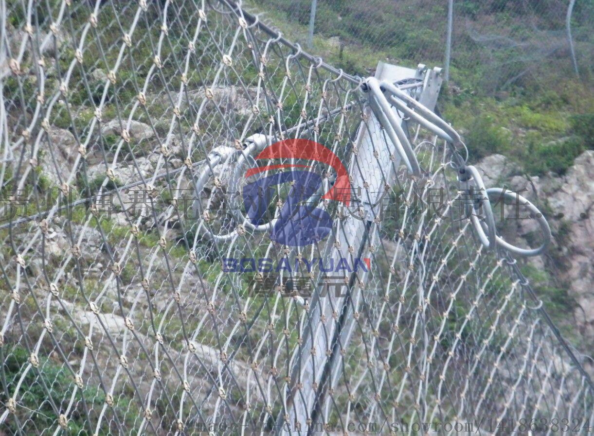 贵州SNS柔性主动被动边坡防护网 防落石网84864685
