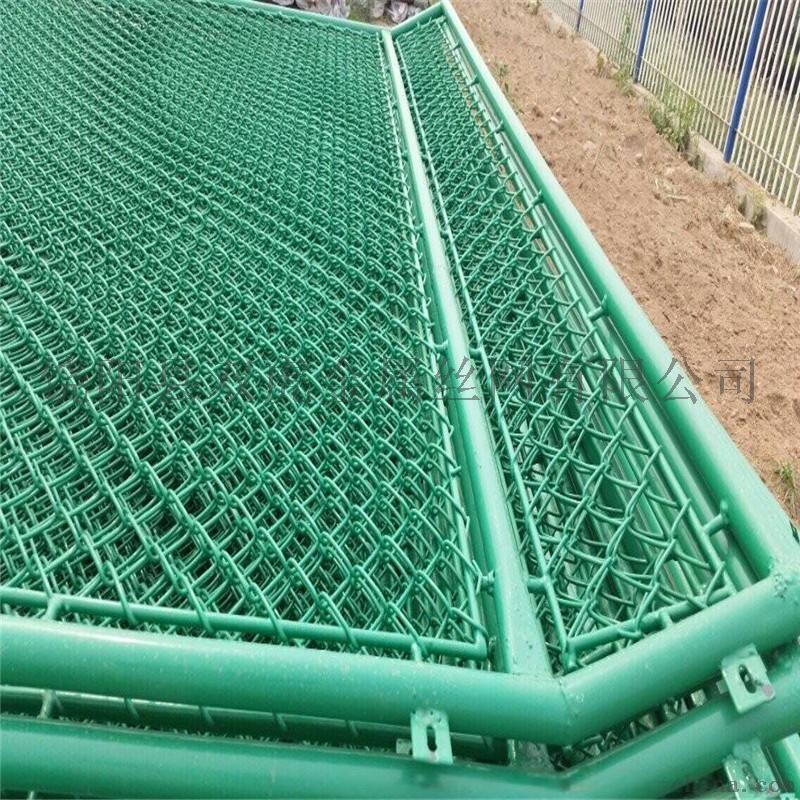 体育运动场防护栏 操场隔离栏 勾花网护栏774124102