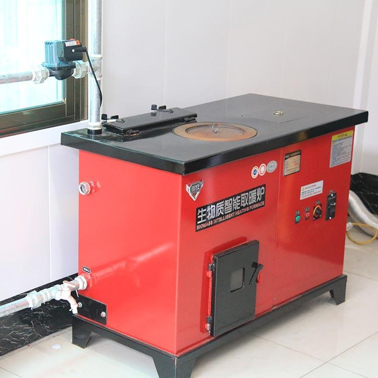 各种型号颗粒炉厂家 自动控温颗粒取暖炉858853782