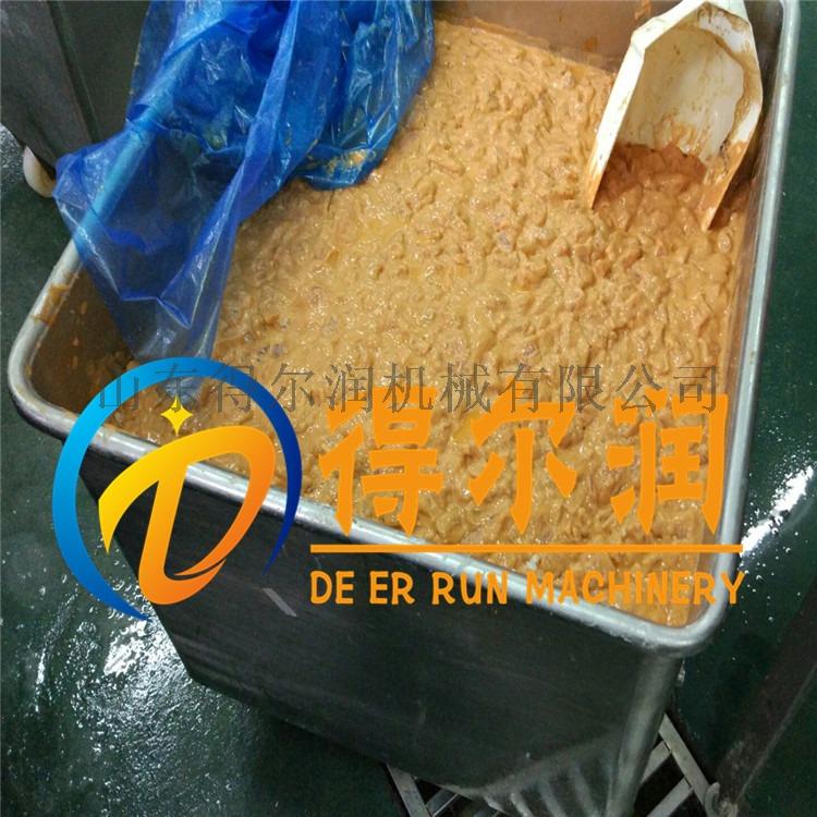 十月新品D-4鸡肉块裹粉机  滚筒鸡米花裹粉机设备57310762