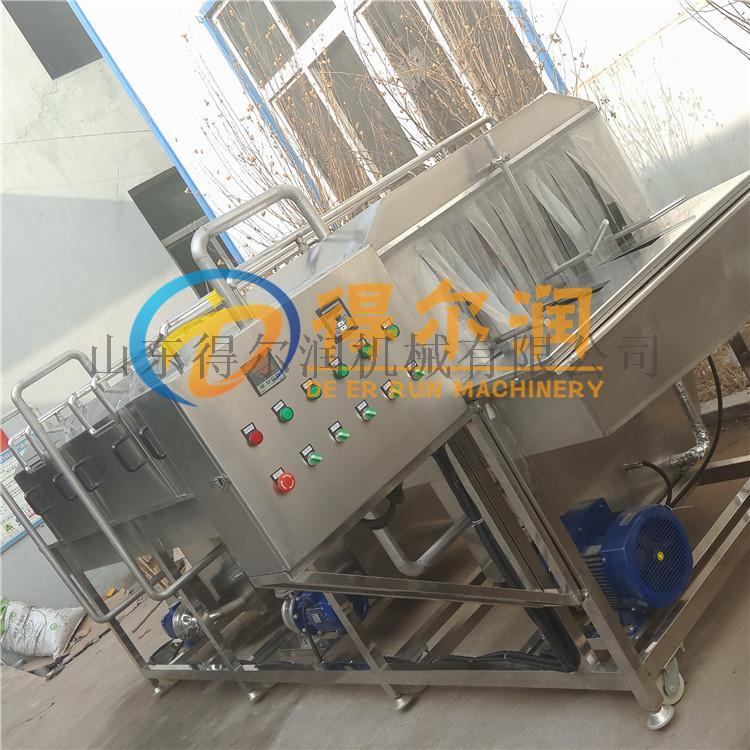 山東 高效率麪包烤盤清洗機 食品膠筐噴淋清洗烘乾機773771592
