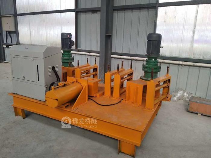 广东湛江工字钢弯拱机,全自动工字钢弯曲机,数控工字钢冷弯机