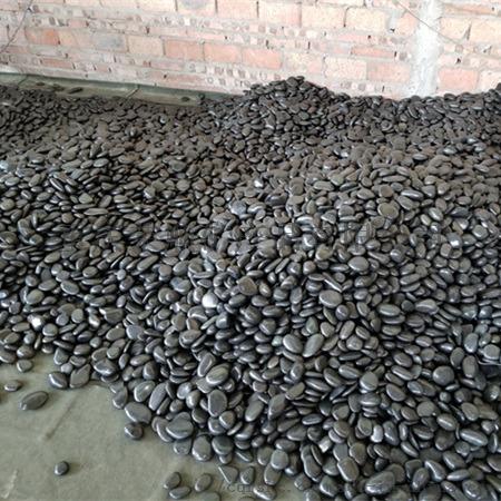 黑色雨花石