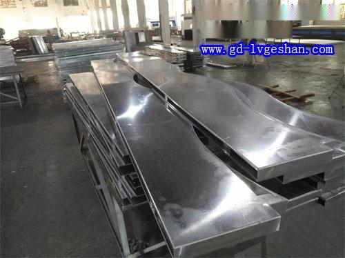 波纹造型铝方通 铝方通波浪板定做 造型铝方通厂家