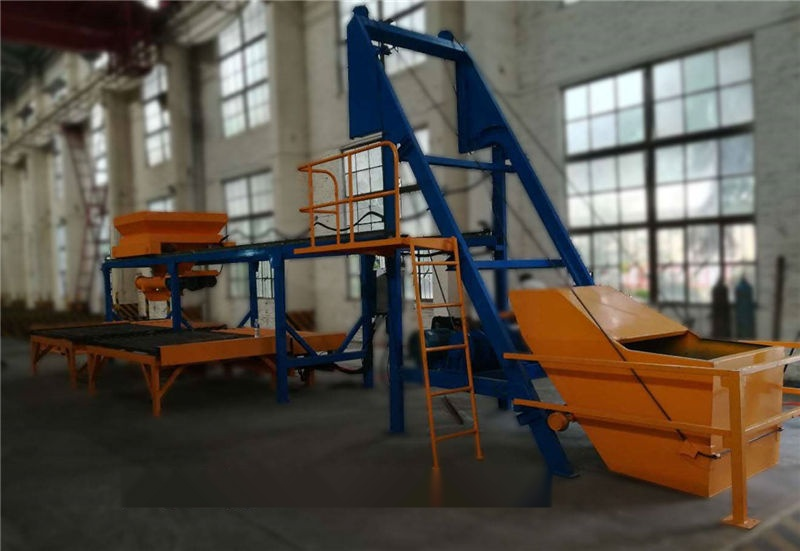 小型混凝土预制构件自动化生产线/u型槽水泥预制块生产线设备