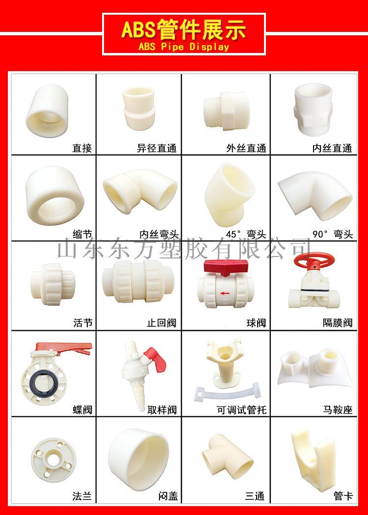 厂家直销 ABS管材 ABS耐酸碱抗腐蚀管材129525252