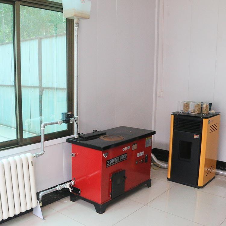 家用生物质颗粒取暖炉 新型自动点火颗粒炉858853062