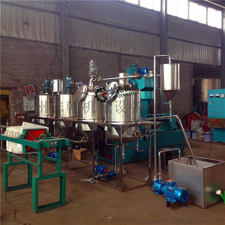 菜籽油精炼油设备 动物油炼油生产线 精炼油设备厂家59714385