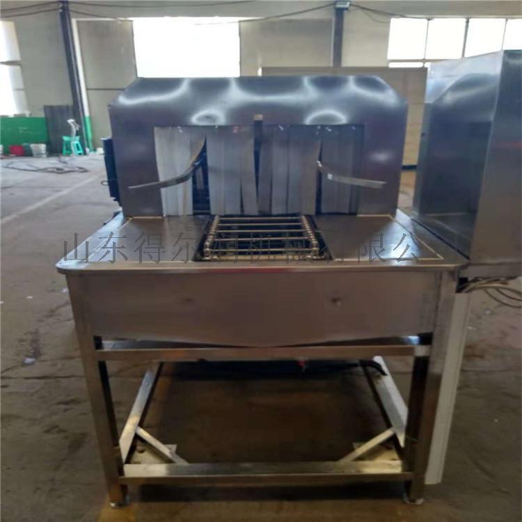山東 高效率麪包烤盤清洗機 食品膠筐噴淋清洗烘乾機773771572