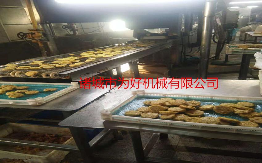 武汉藕盒电加热全自动油炸机62060152