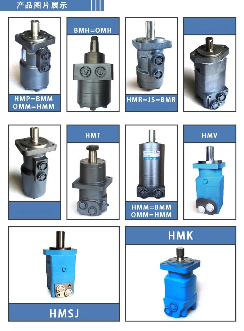 低速大扭矩BM系列擺線液壓馬達 提升裝置液壓油馬達99850862