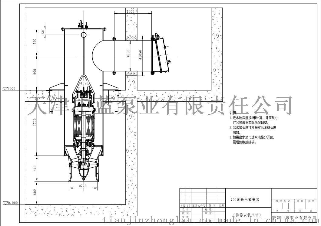 700QZB-100潛水軸流泵選型報價38125322