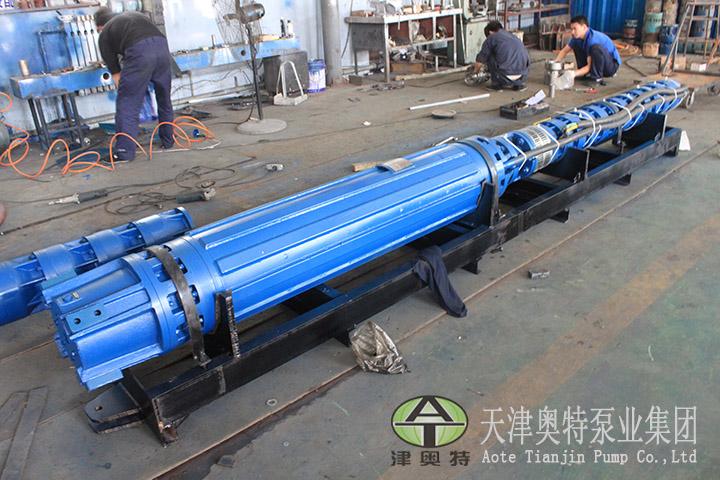 140吨流量DN125电机外径热水潜水泵厂家联系方式\400米扬程热水潜水泵直销54459275