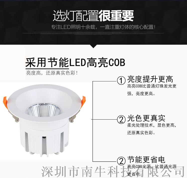 10寸嵌入式筒燈開孔250mm 100W筒燈127389335