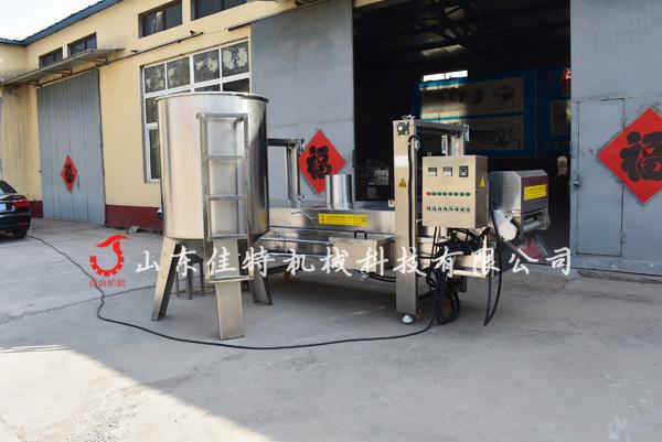 厂家专业研发江米条油炸机 大型连续式油炸生产线75411402