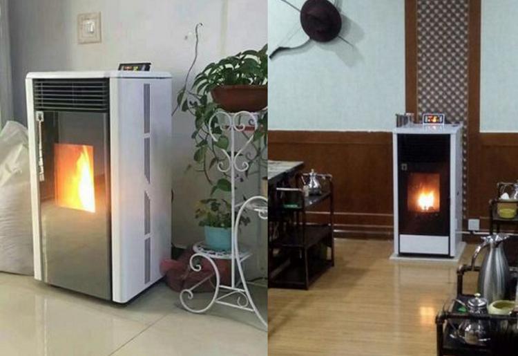 木屑颗粒取暖炉 恒美百特家用取暖炉水暖炉厂家121494782