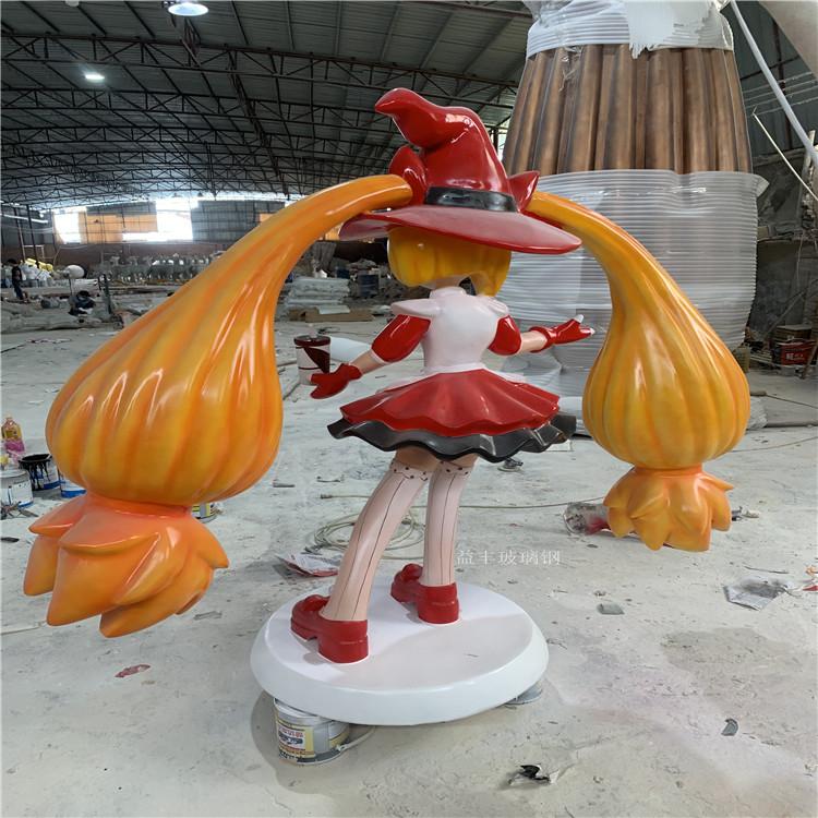 广州商业广场卡通雕塑 玻璃钢公仔卡通雕塑美陈147499505