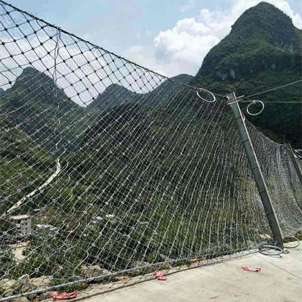 菱形被动防护网 柔性被动防护网153603875
