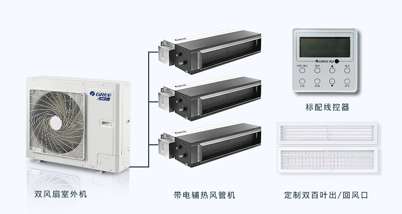 北京格力中央空调家用户式别墅家庭系列 格力风管机117763372