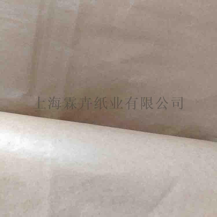 防油防潮防水牛皮纸 80克90克本色无塑硅油纸859040105