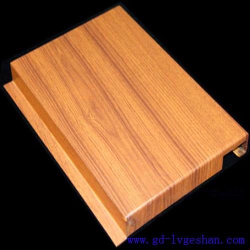 勾搭式木纹铝单板 铝单板颜色 铝单板型号