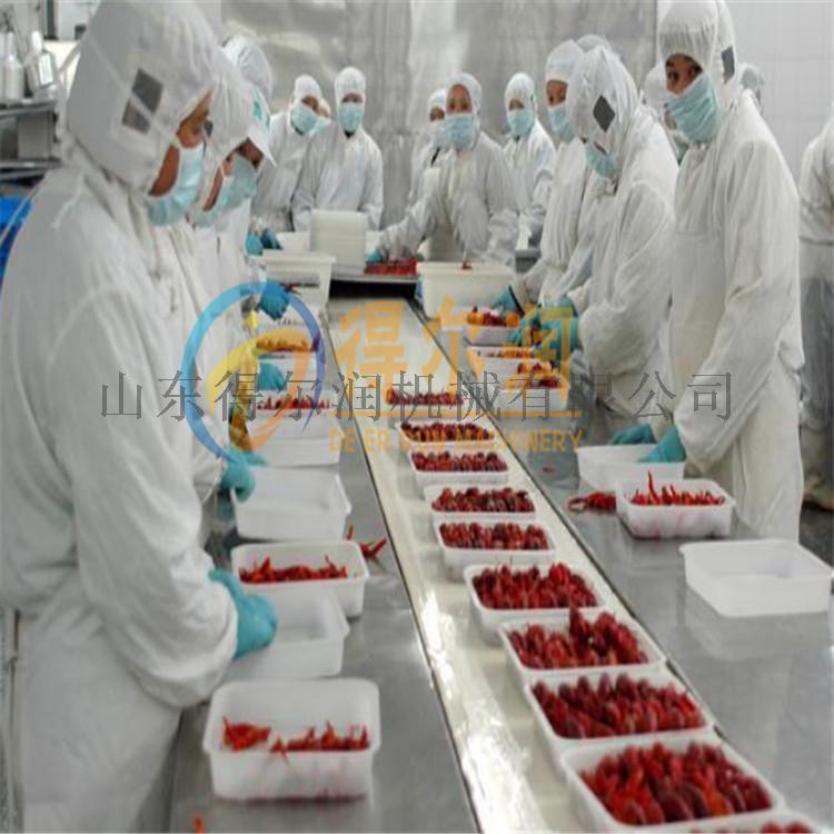 武汉 速冻虾仁生产设备 麻辣小龙虾深加工生产线62911842