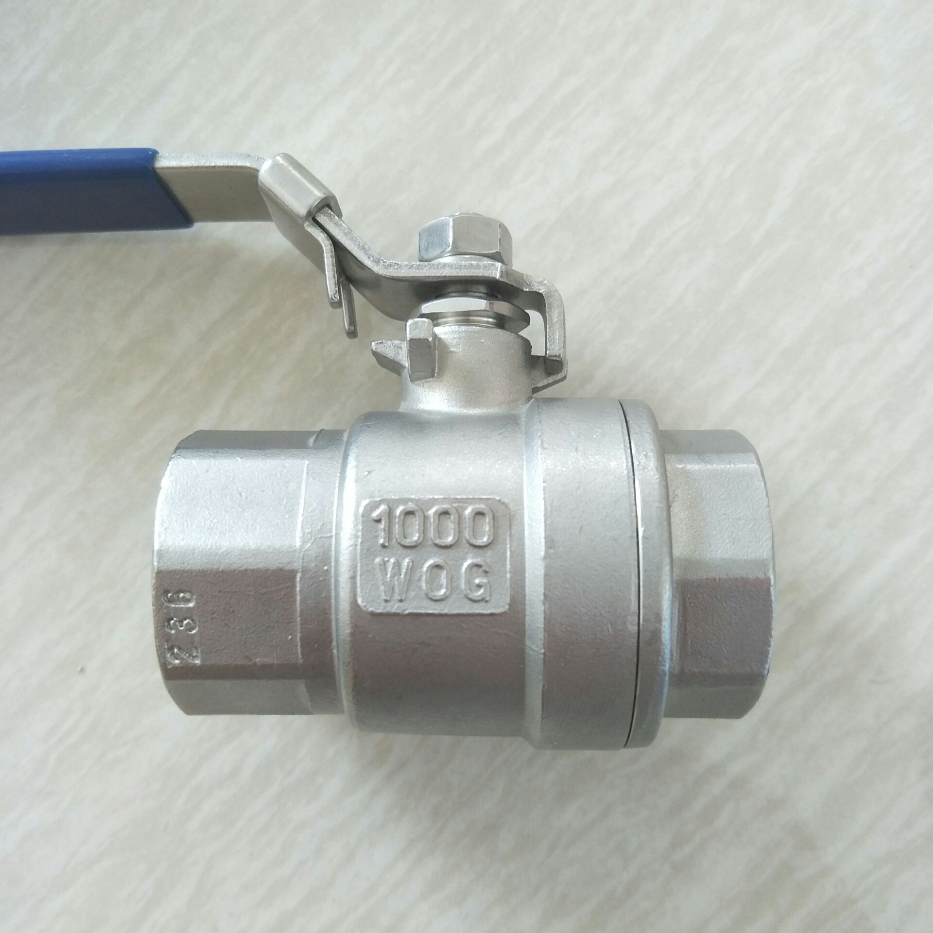 二片式不锈钢球阀DN25  2PC 球阀 1寸810950312