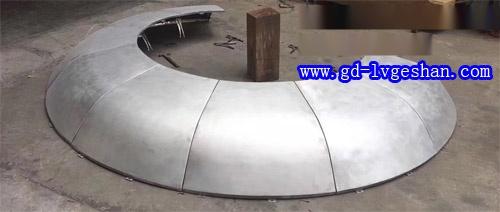异形铝单板厂家 铝单板造型 圆形铝单板定做