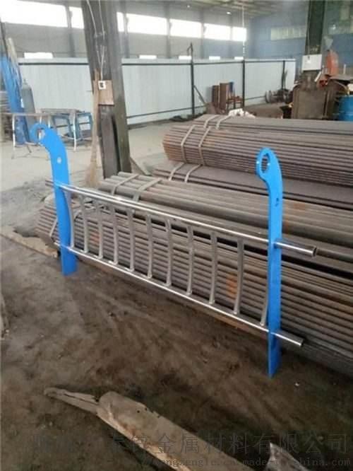 桥梁护栏河道护栏防撞隔离栏不锈钢复合管护栏821580622