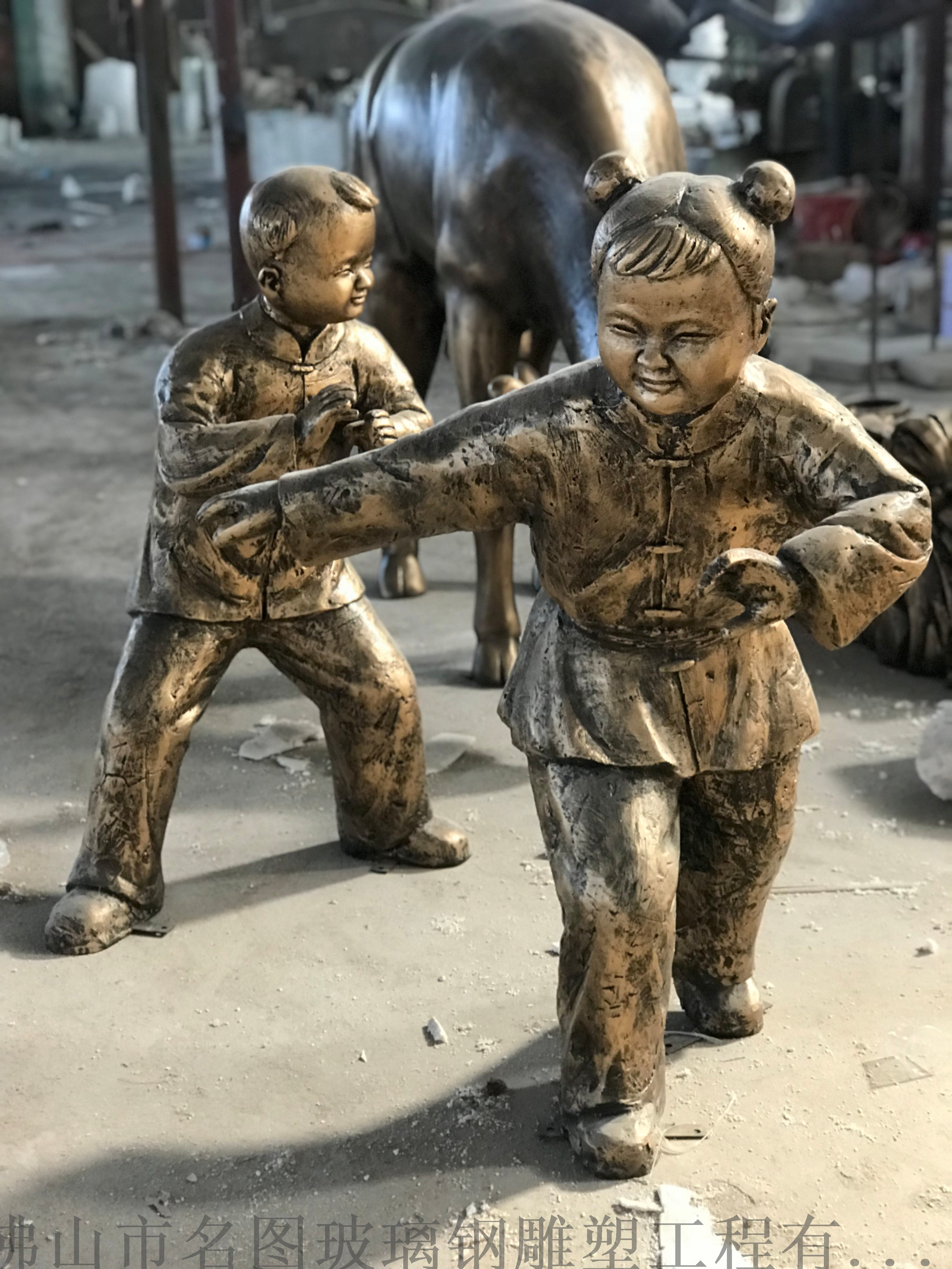 玻璃钢雕塑厂家  玻璃钢开通人物雕塑819617455