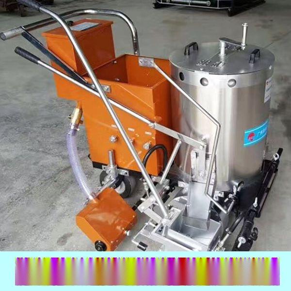 雲南玉溪市道路劃線機製造商|熱熔劃線施工方案